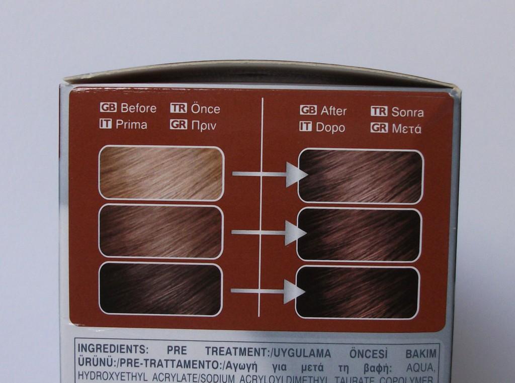 Crema colorante per capelli technique