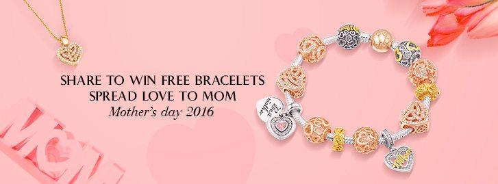 #GlamuletMotherDay2016: condividi e vinci il bracciale dei sogni di tua mamma con Glamulet!