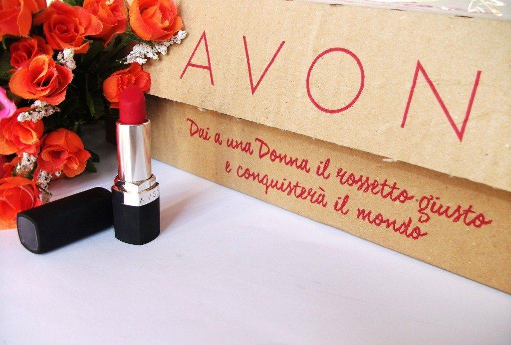 Avon, Avon Italia, Avon Perfectly Matte Ruby Kiss, Avon nuova scatola