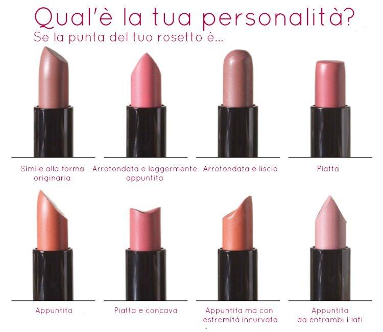 rossetti, rossetti preferiti, quiz, personalità, psicologia, rossetti Avon