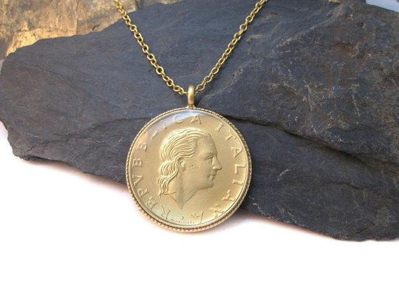 Urban-Raven-Shiran-Tal-recycled-Italian-coin-necklace