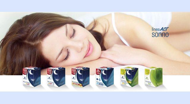 Novità: Melatonina+ Forte 5 Complex E Valerniana ACT®, il nuovo integratore naturale per il buon sonno di Linea ACT