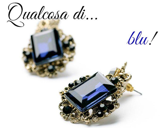 tradizione-matrimonio-accessorio-blu-qualcosa-di blu-orecchini-vintage-lapislazzuli