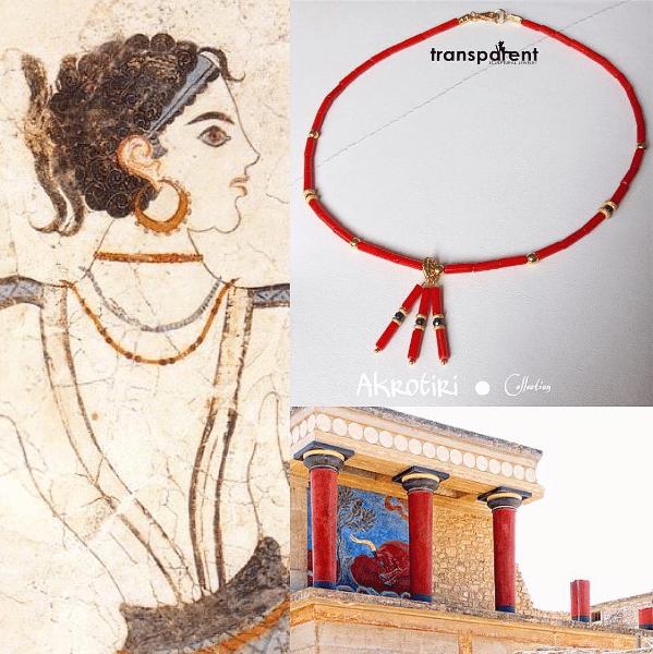 Transparent Sculptural Jewelry, gioielli handmade di Marta Roura, Akrotiri Collection. Cocker semplice