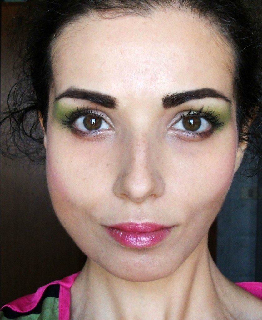 Make-up anni '80, il look da signora perfetto per Halloween Valentina-Chirico-close-up-dettagli