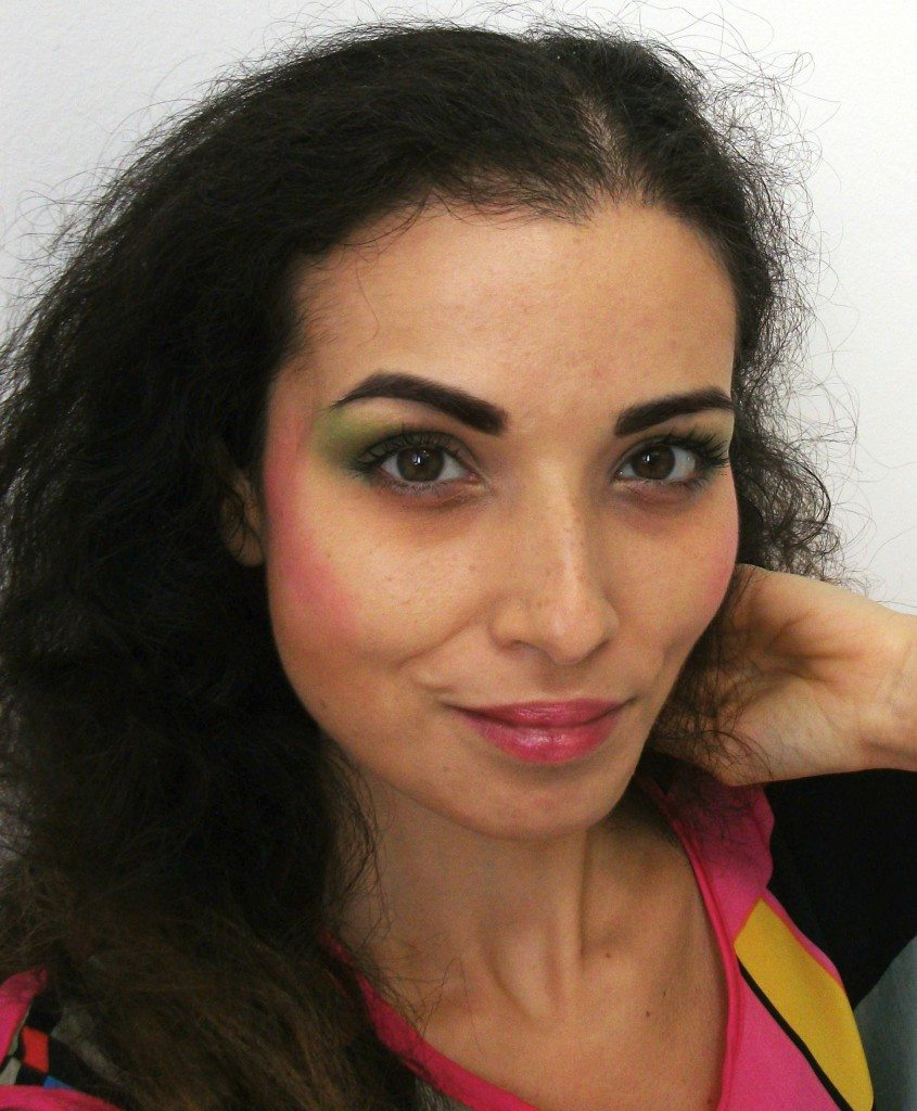Make-up anni '80, il look da signora perfetto per Halloween Valens-Chirico