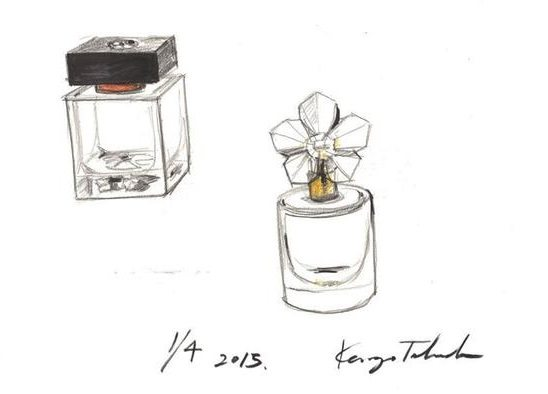 AVON-LIFE-by-Kenzo-Takada-design-sketches