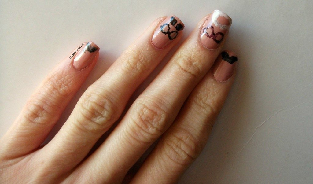 archaeo-nails-archaeologists-moustaches-nail-art-manicure-Valentina-Chirico-Evans-Binford-Childe-Wheeler-movember
