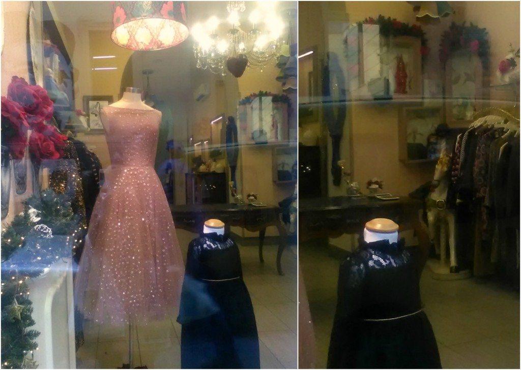 Boudoir-Boutique-allestimento-Natale-Napoli-Naples-vintage-fashion-shop