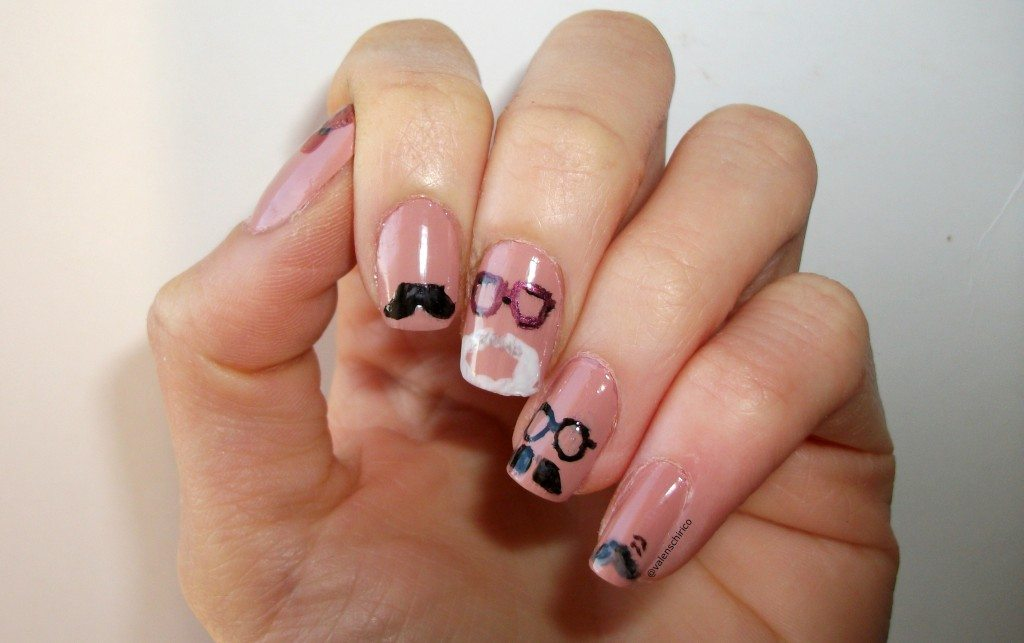 archaeological-nail-art-archaeologists-moustaches-manicure-Valentina-Chirico-Evans-Binford-Childe-Wheeler