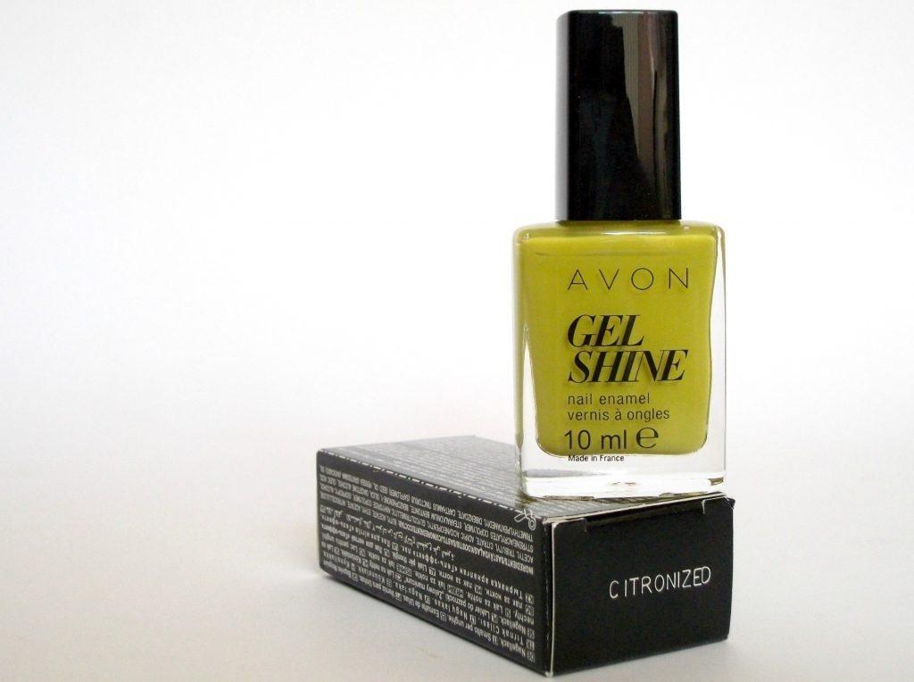 Avon-GEL-SHINE-Citronised-Citronized-smalto-gel-no-UV-review a cura di Valentina Chirico