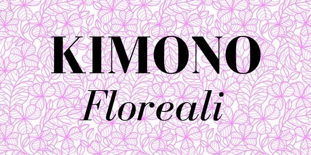 Kimono floreali, anticipazione della primavera con stile