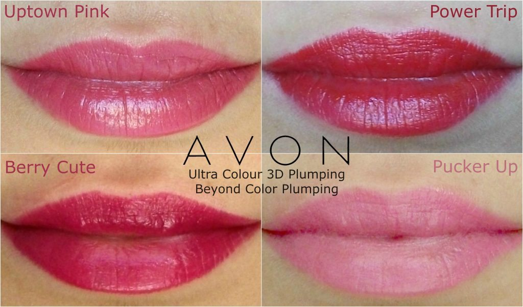 Populaire Avon rossetto sempre vivo effetto volume 3D, review e swatches  TP76