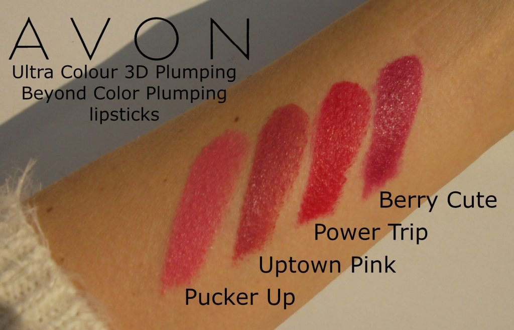 avon-rossetto-volume-3D-rossetti-volumizzanti-power-trip-pucker-up-uptown-pink-berry-cute-review-swatches-Valentina-Chirico