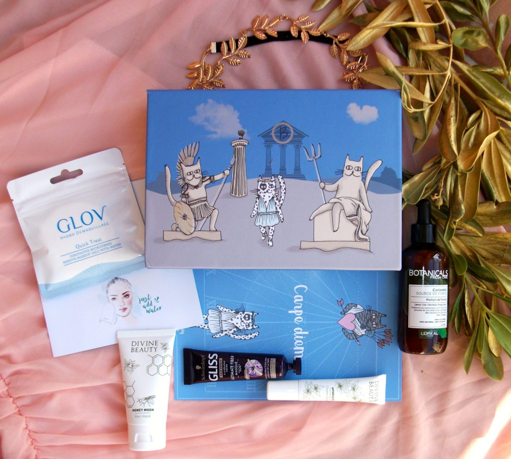 Divine-Beauty-I-segreti-dell'Olimpo-BeautifulBox-by-Alfemminile-Aufeminin-unboxing