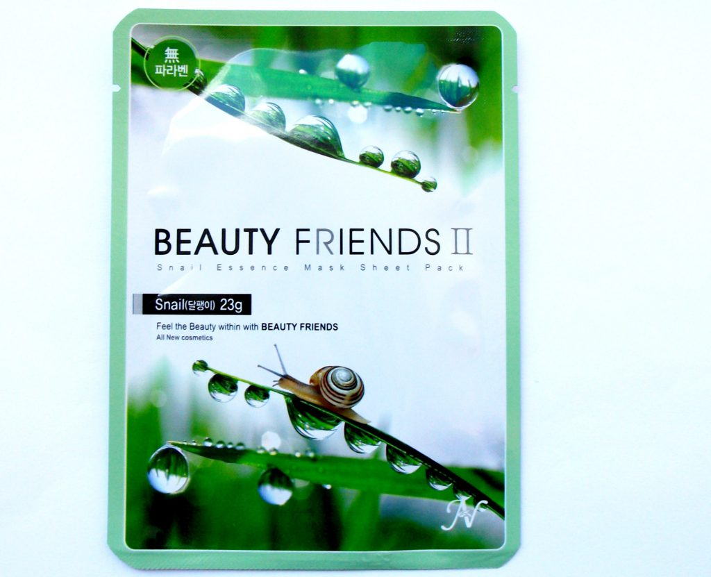 Beauty-Friends-II-Vanedo-Snail-Essence-Mask-Sheet-Pack-confezione