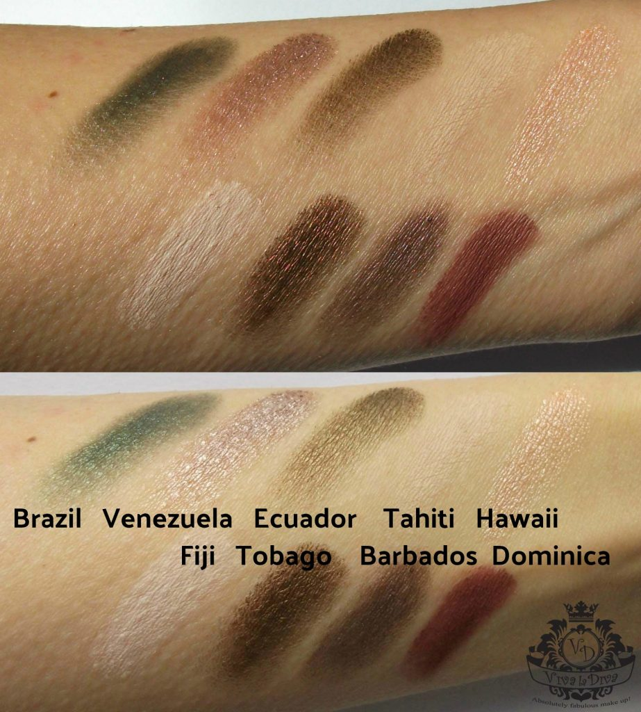 Viva-la-Diva-Move-vegan-Me-Jungle-eyeshadow-kit-swatches-by-Valentina-Chirico