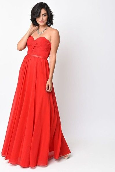 strapless-red-prom-dress
