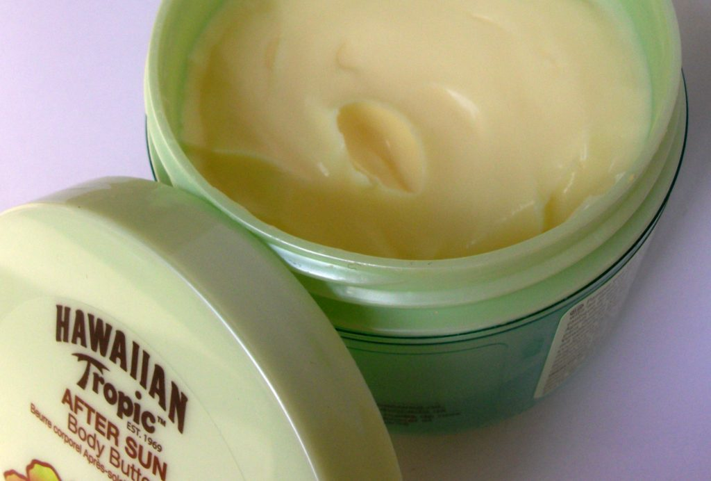 Hawaiian Tropic Exotic Cococnut Afyer Sun Body Butter, curro corpo doposole (consistenza, packaging e review)