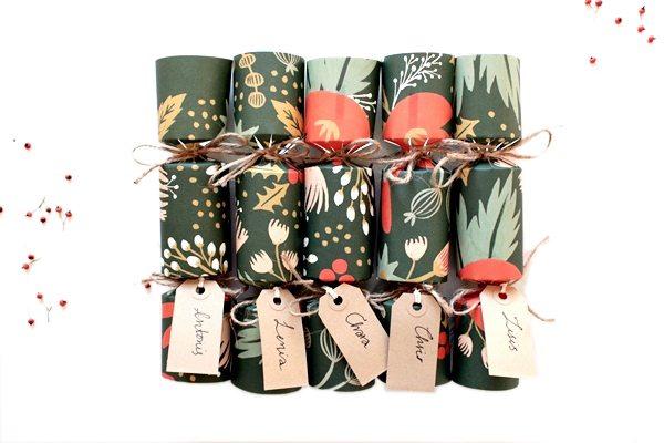 Christmas cracker confezione regalo fai da te eco
